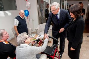 © Mike Poloway/+44(0)1618503338 / mike@poloway.com. The Fed, Heathlands, Duke of Gloucester opens new extension. 3 September 2015