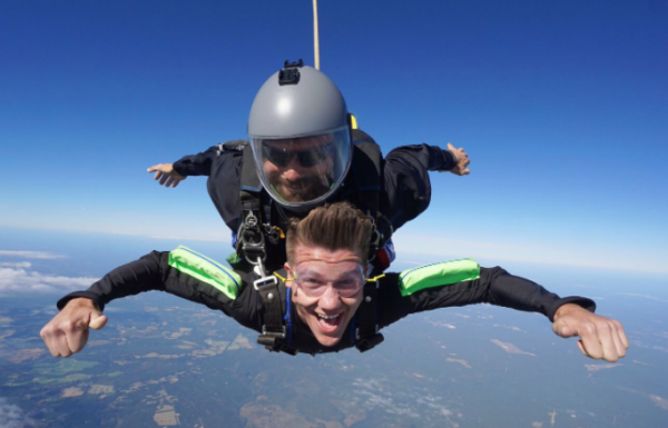 Featured image - Sponsored Skydive