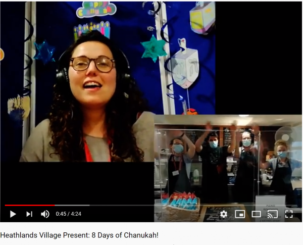 Featured image - The Fed's Viral Video Spreads The Light of Chanukah!