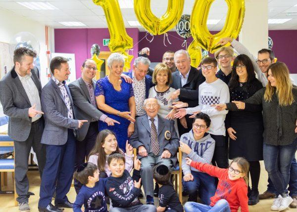 Featured image - Centenarian Celebrations at Heathlands Village