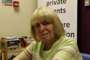 Former carer and Drop In volunteer, Beryl
