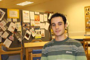 Drop In sessional worker, Daniel Lazimi