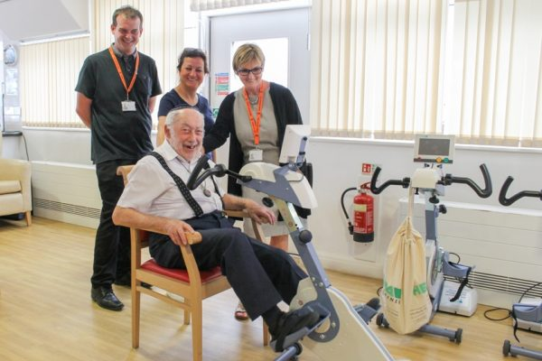 Featured image - Heathlands Residents Are Cycling Around The World With Motiview!