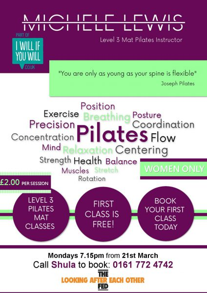 Featured image - IWIYW backs Fed's new Pilates Course