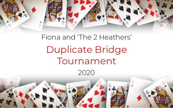 Featured image - Fiona & The 2 Heathers: (Virtual!) Duplicate Bridge Tournament
