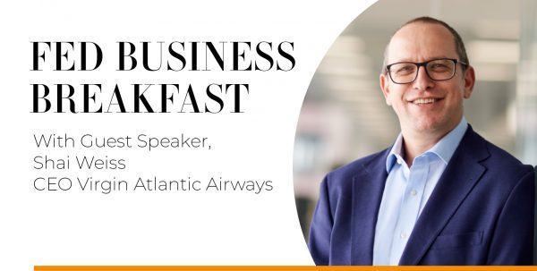 Featured image - Business Breakfast With Shai Weiss