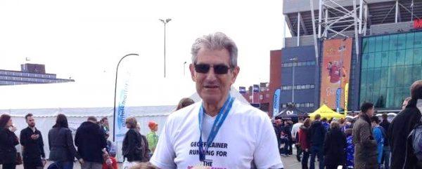 Featured image - Fed Marathon Man, Geoff, runs up over £4k!